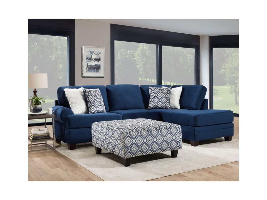 Albany Groovy Navy Transitional Sectional Sofa With Chaise Royal Furniture Sectional Sofas