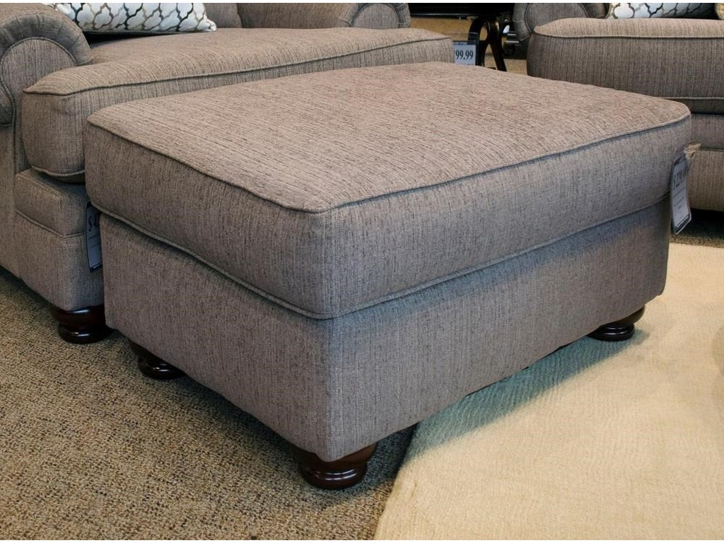 Albany Essence PewterOttoman