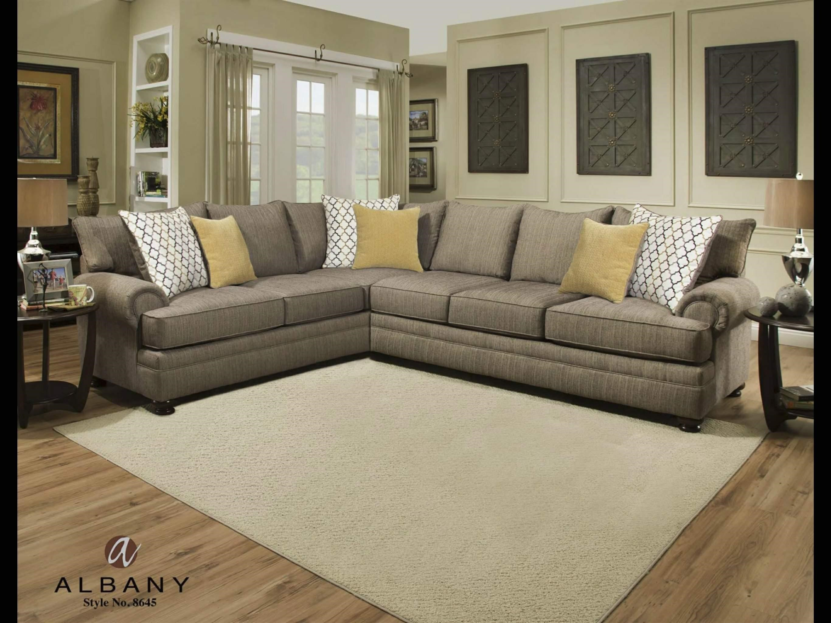 albany essence essence 2 piece sectional great american home store sectional sofas