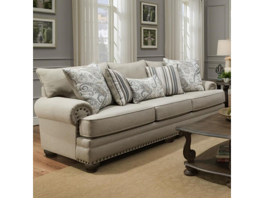 Albany 8647Traditional Sofa