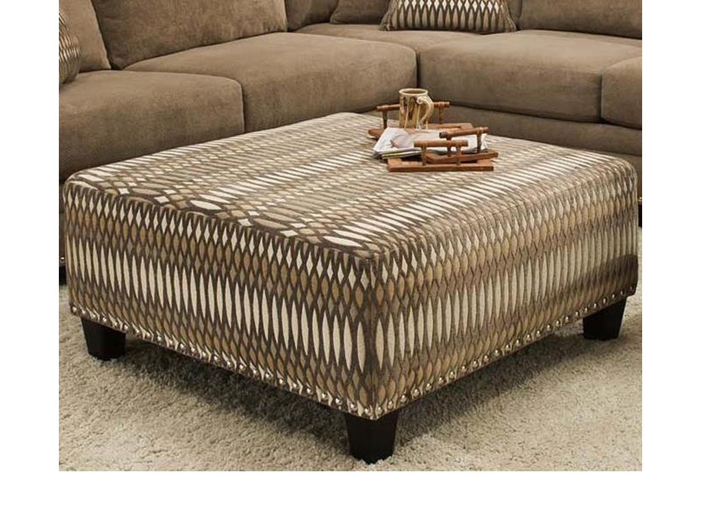 Albany 8648 CollectionCasual Cocktail Ottoman