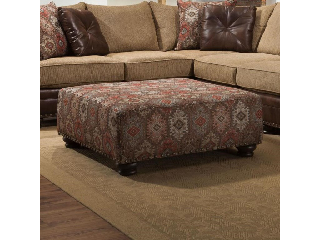 Albany 8649Cocktail Ottoman