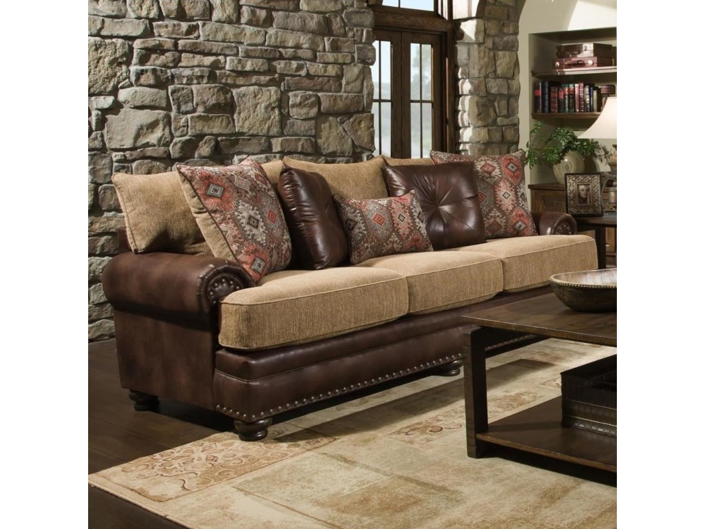 Albany 8649Traditional Sofa