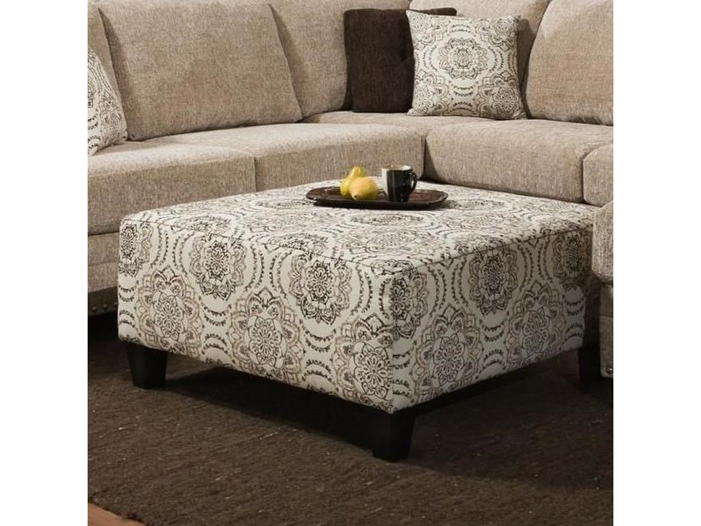 Albany 8658Cocktail Ottoman