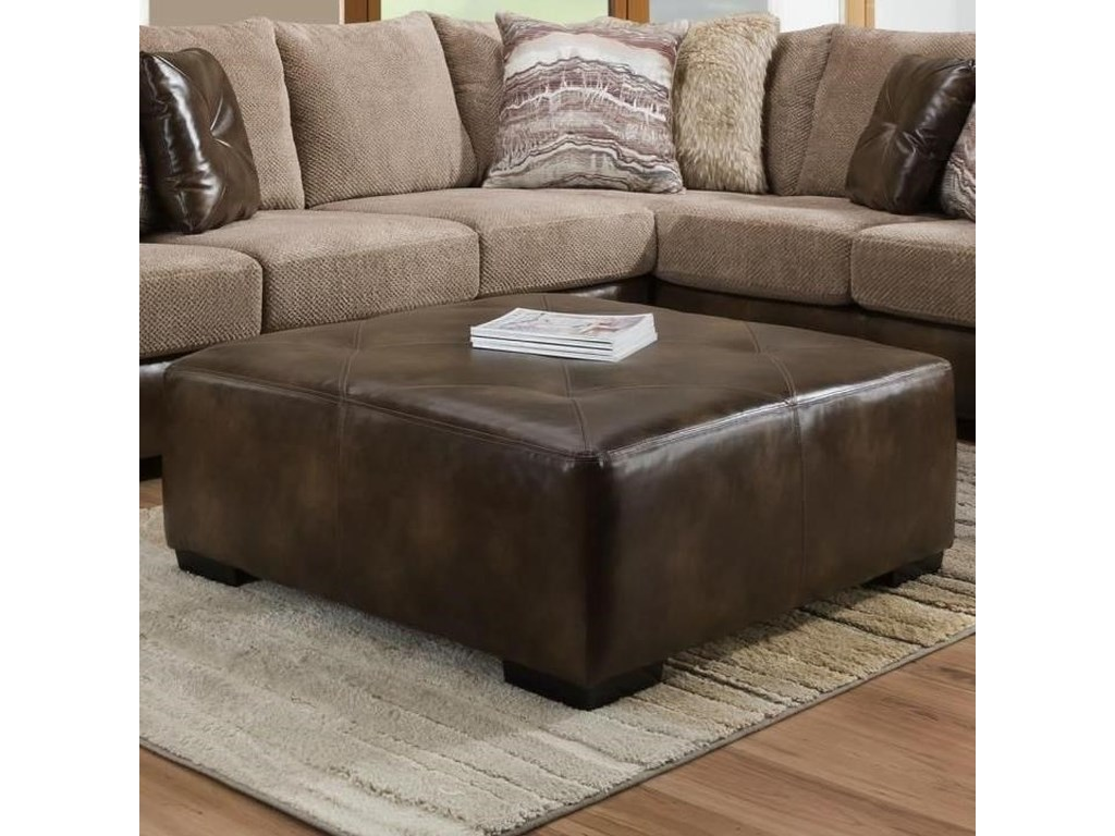 Albany 8782Square Cocktail Ottoman