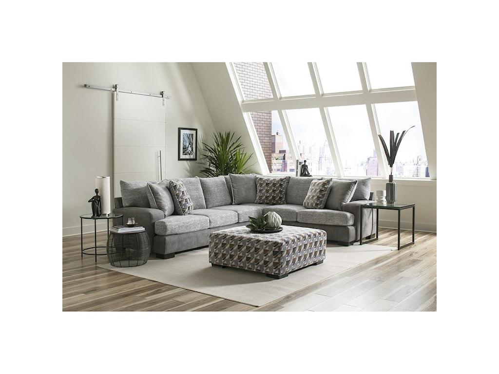 Albany 8784Sectional Sofa