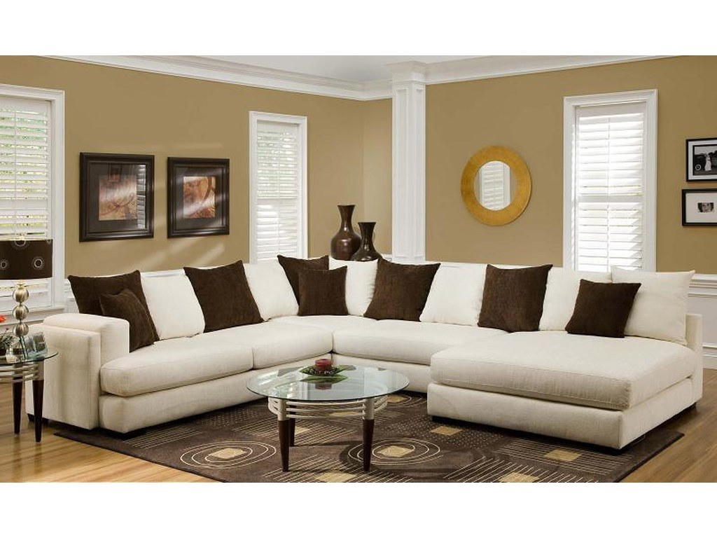 Albany 880Sectional Sofa
