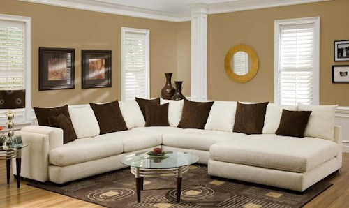 Albany 880 Sectional Sofa with Right-Side Chaise