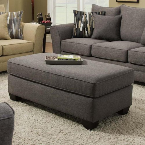 Albany 957 Transitioanl Rectangular Ottoman