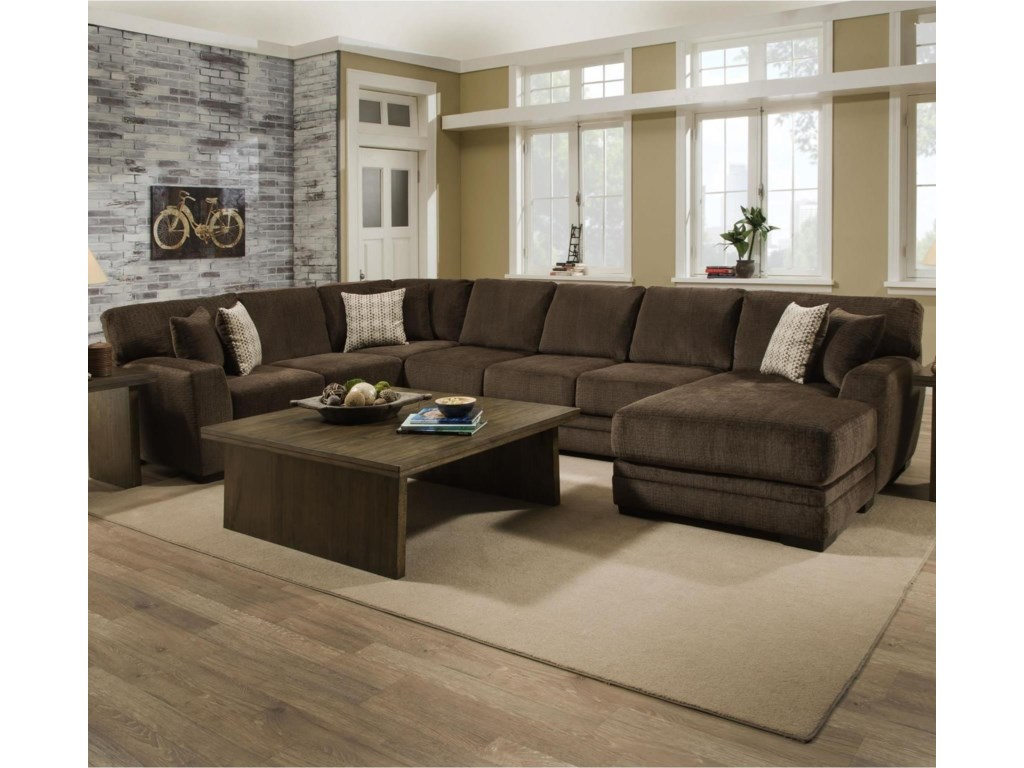 Albany 9683 Pc Sectional