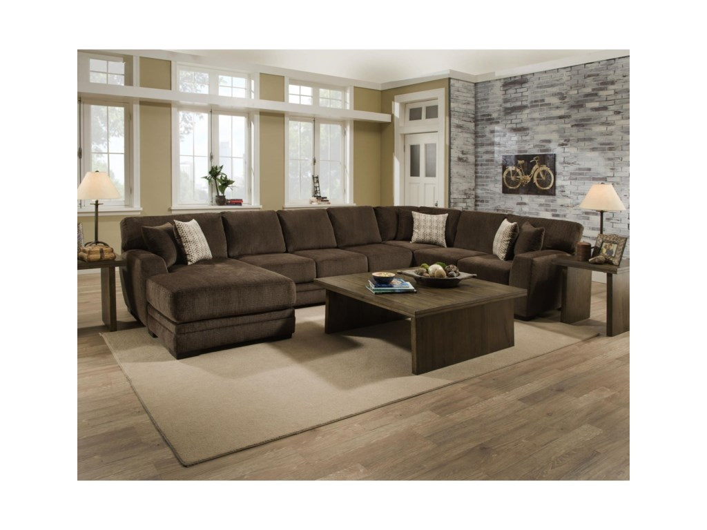 Albany 968Sectional Sofa