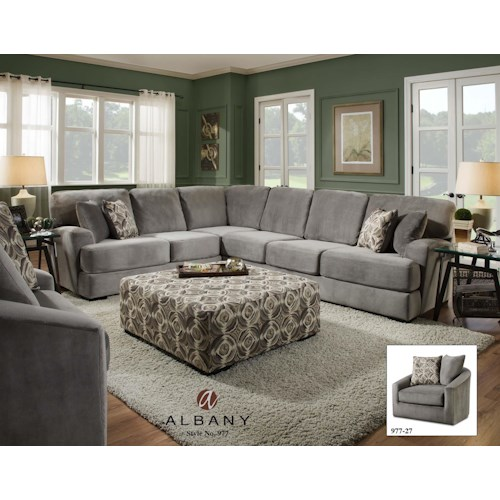 Albany 977 Transitional Living Room Group J J Furniture Upholstery Group Mobile Daphne