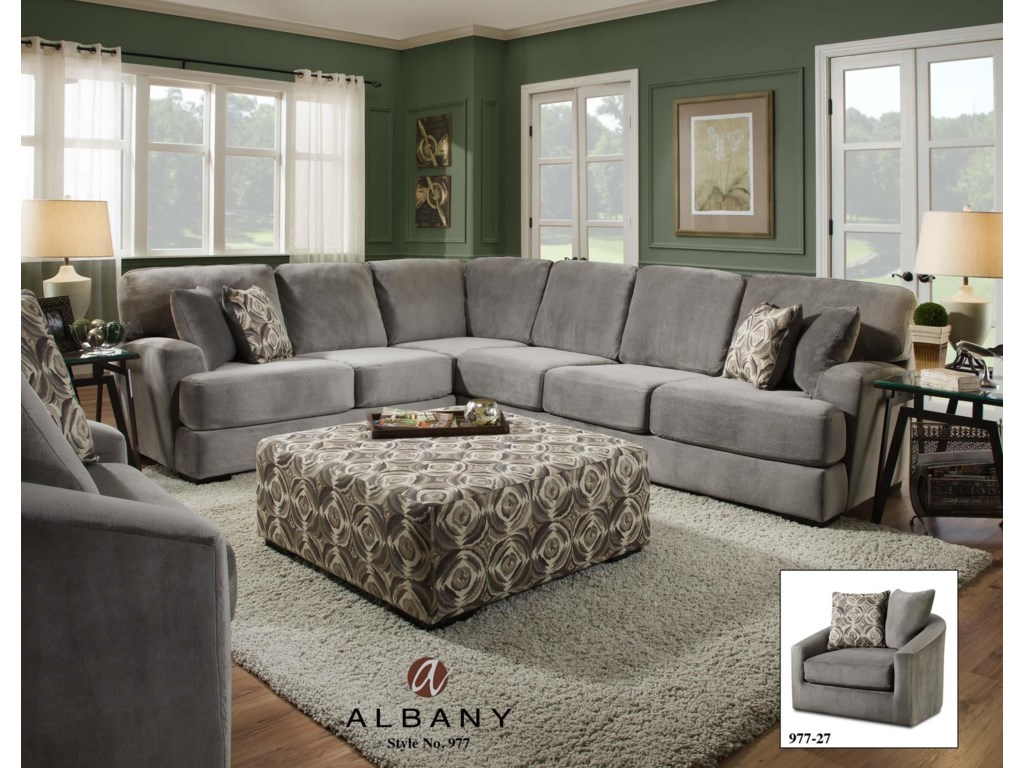 Albany 977transitional Living Room Group