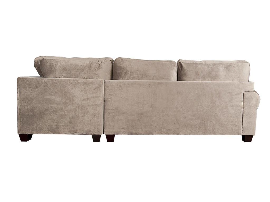 Albany AgustusAgustus Sectional Sofa with Accent Pillows