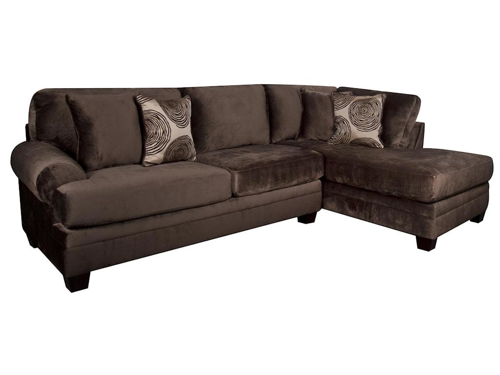 Morris Home AgustusAgustus Classic Sectional Sofa
