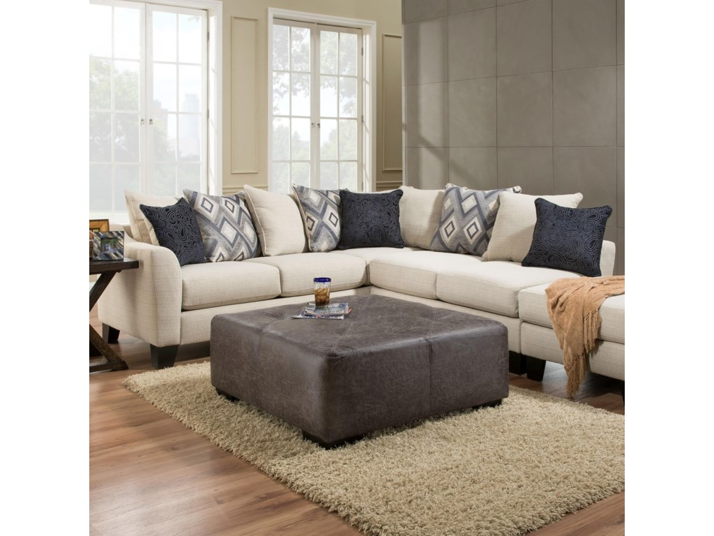 Albany 7592 Piece Sectional Sofa