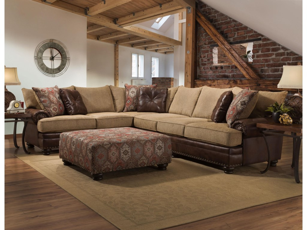 Sublime Treasure 2 Piece Sectional By Albany At Royal Furniture