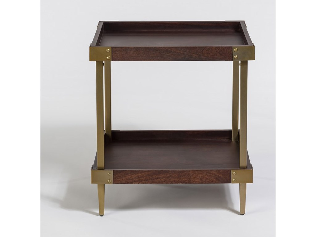 Alder & Tweed AvenueSquare End Table