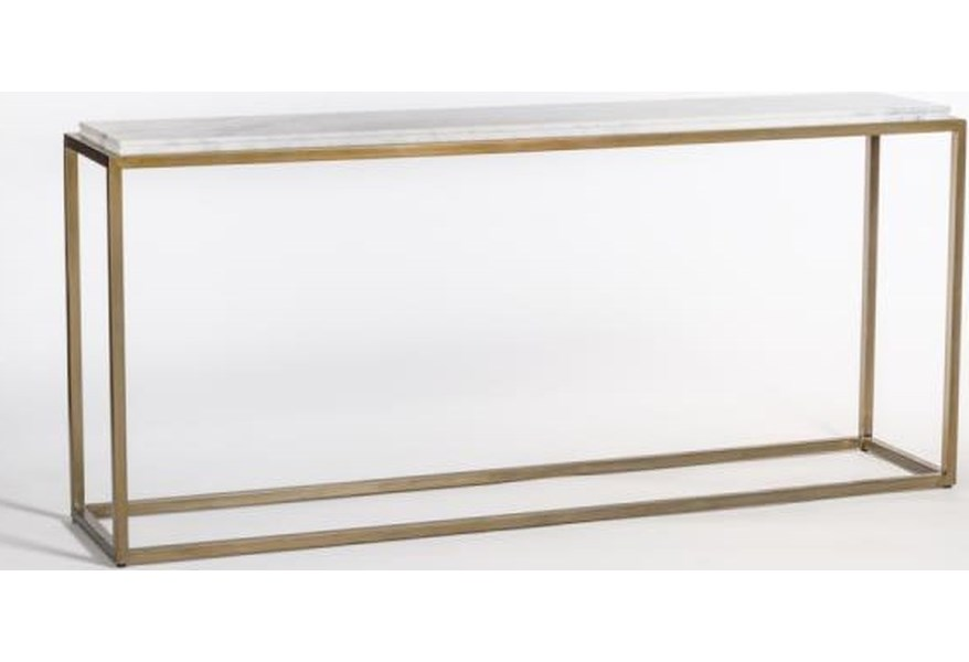 Beckett 72 Marble Console Table