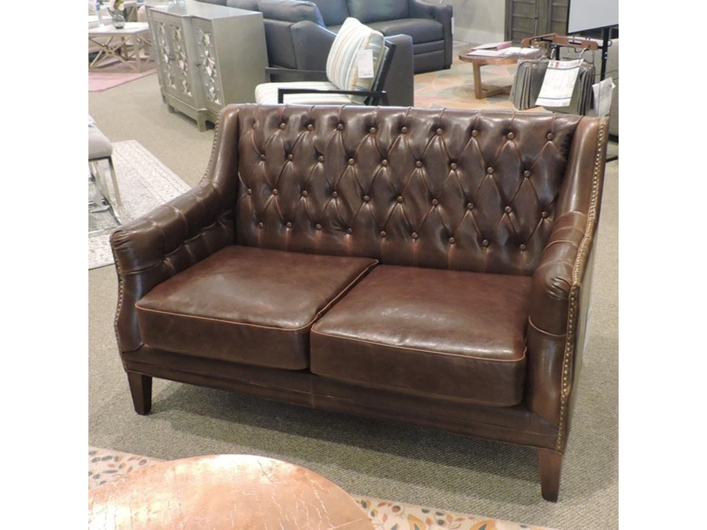 Belfort Leather ClearanceAntique Leather Settee