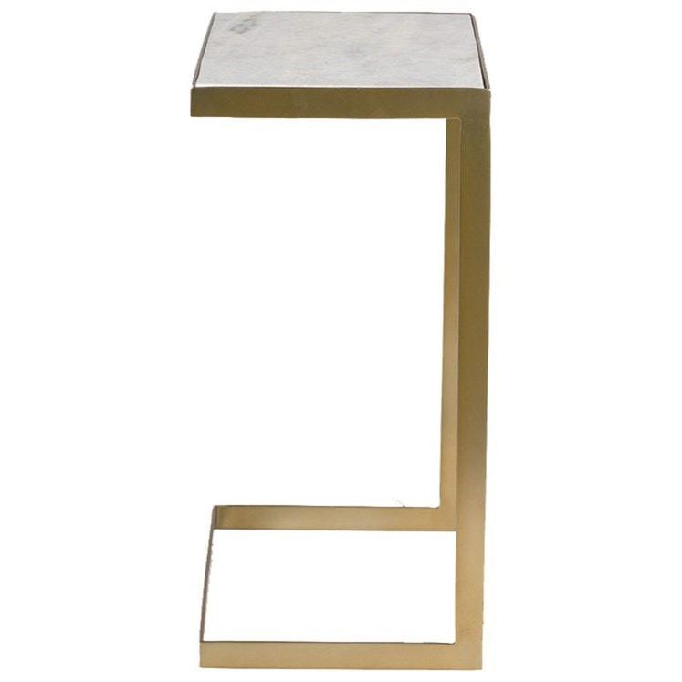 modern accent tables. Alder \u0026 Tweed Laguna Mid-Century Modern Accent Table With Marble Top Tables