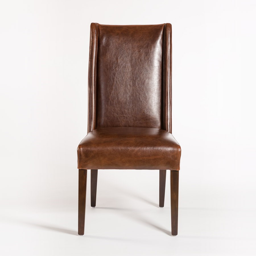 Belfort Leather TribecaSide Chair ...