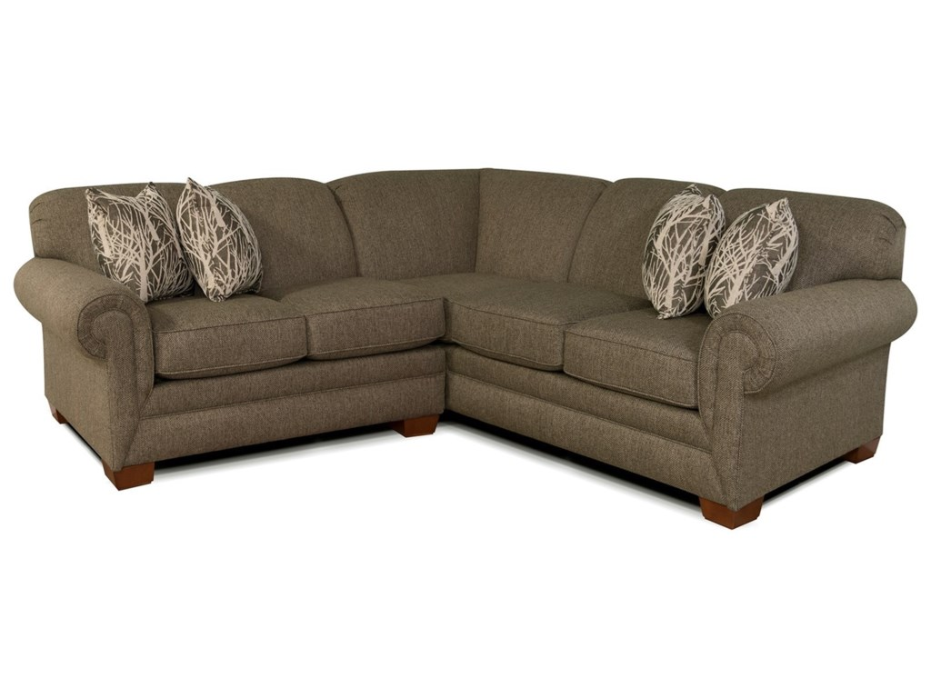 Alexvale V140Small Sectional Sofa for 3-4 People