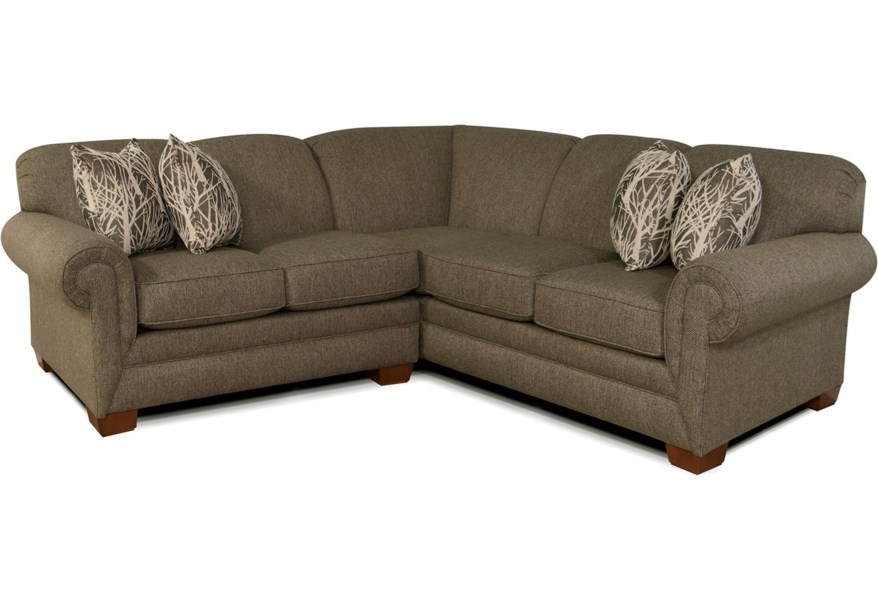 Alexvale V140 Small Sectional Sofa For 3 4 People Northeast