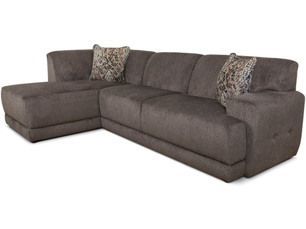V280 Contemporary Sectional Sofa with Chaise by Alexvale at Becker  Furniture World