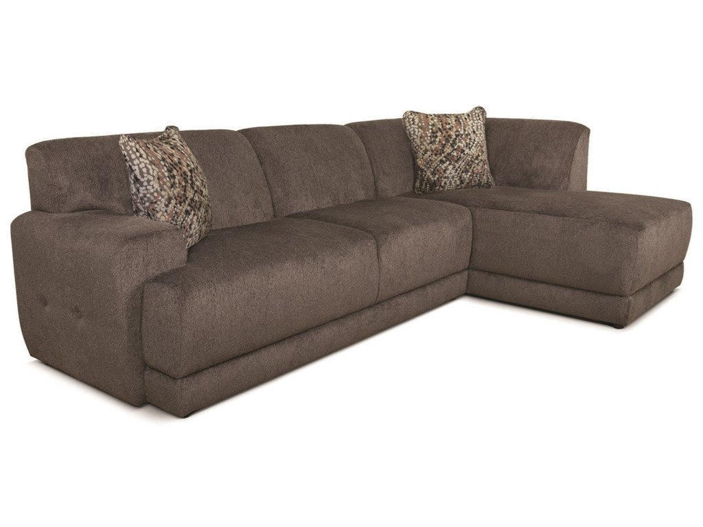 V280 Contemporary Sectional Sofa With Chaise By Alexvale At Turk Furniture