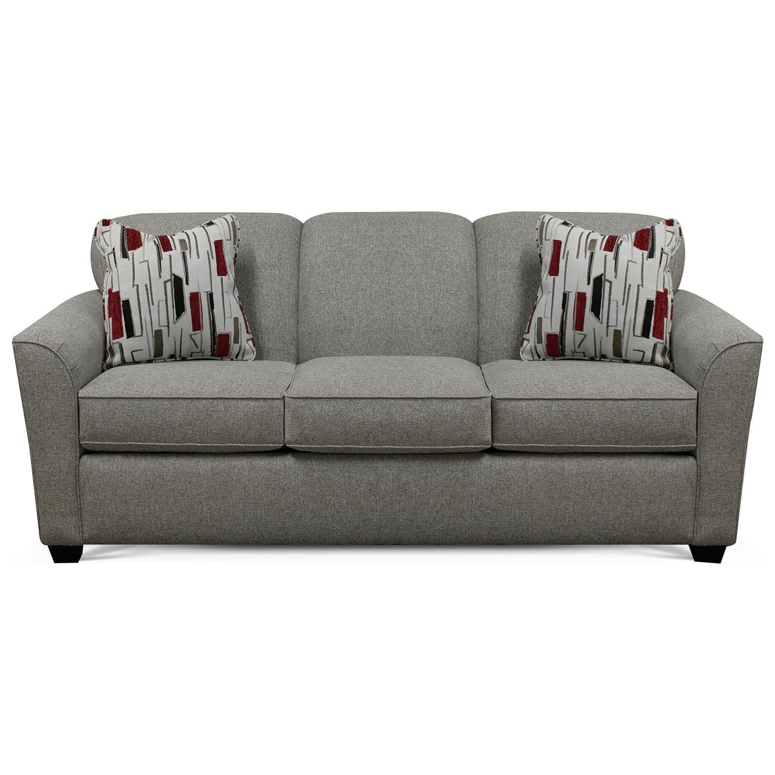 Contemporary Queen Sleeper Sofa with Innerspring Mattress