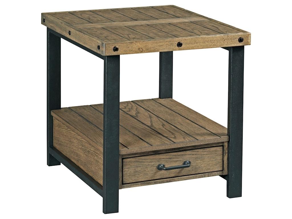 Alexvale WorkbenchRectangular Drawer End Table