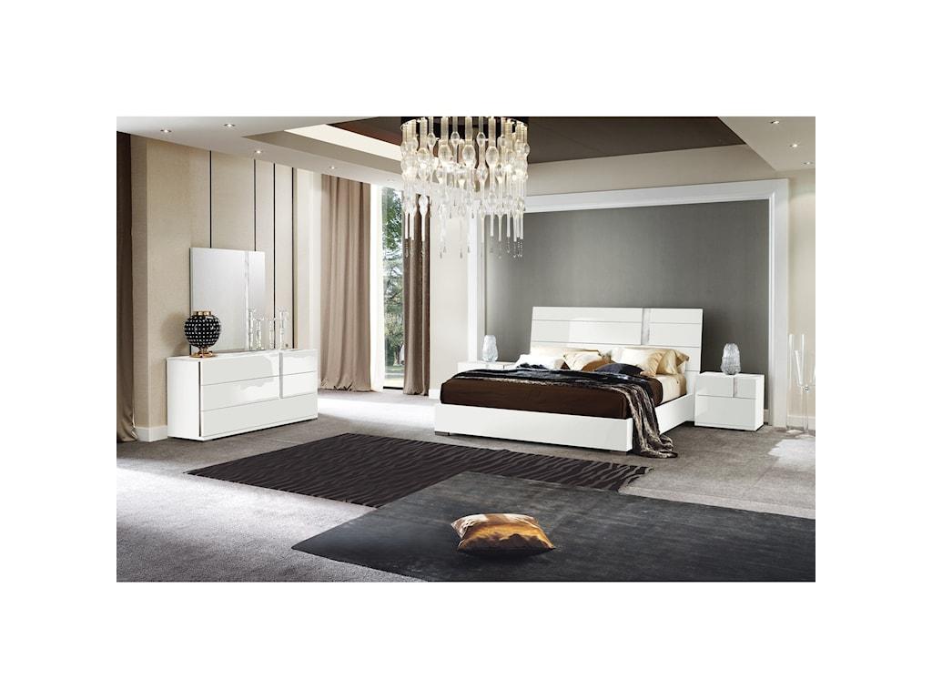 Alf Italia BiancaQueen Bedroom Group