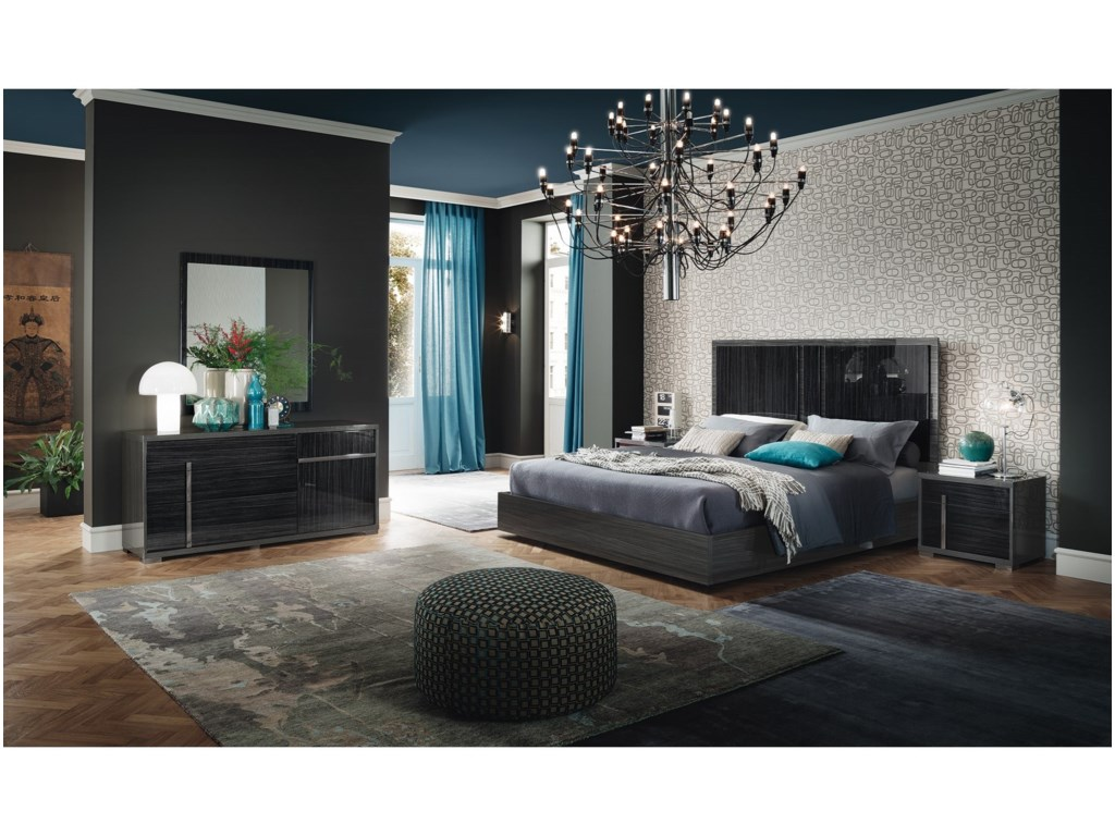 Alf Italia MinervaQueen Bedroom Group