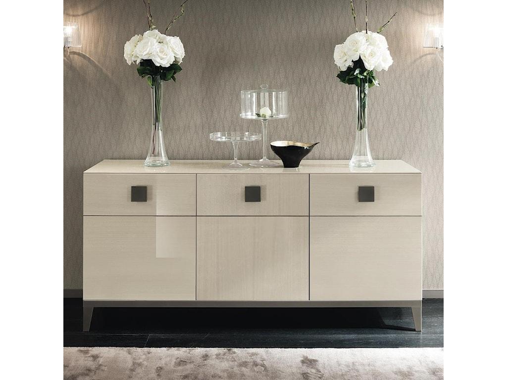 Alf Italia Mont Blanc 3 Door Buffet With Cutlery Drawer Stoney