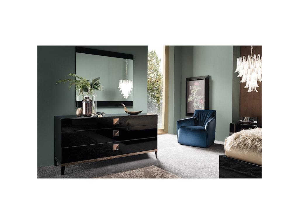 Alf Italia Mont Noir3 Drawer Dresser