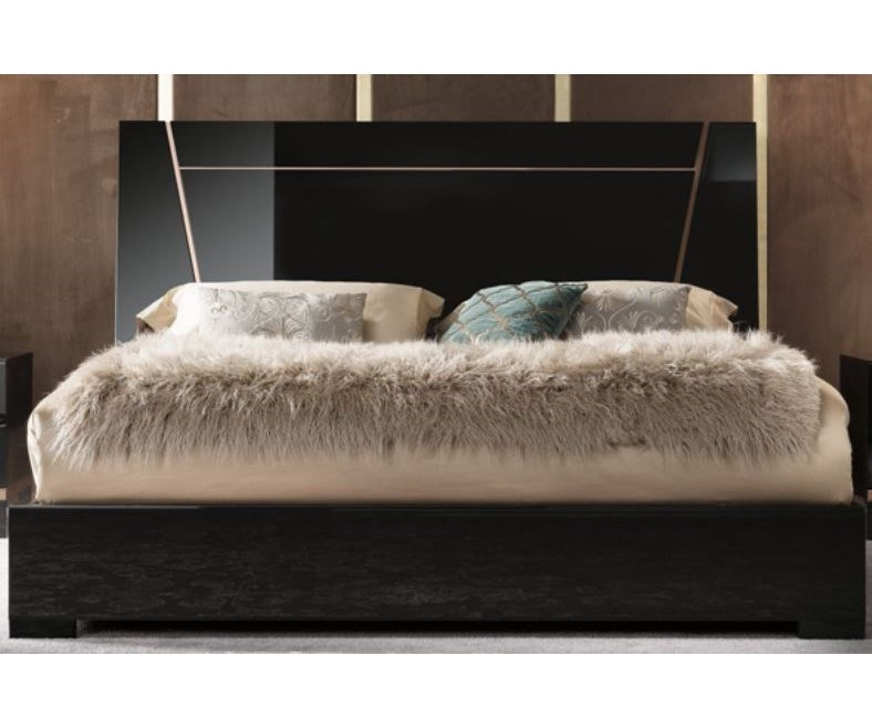 Alf Italia Mont NoirCal King Bed