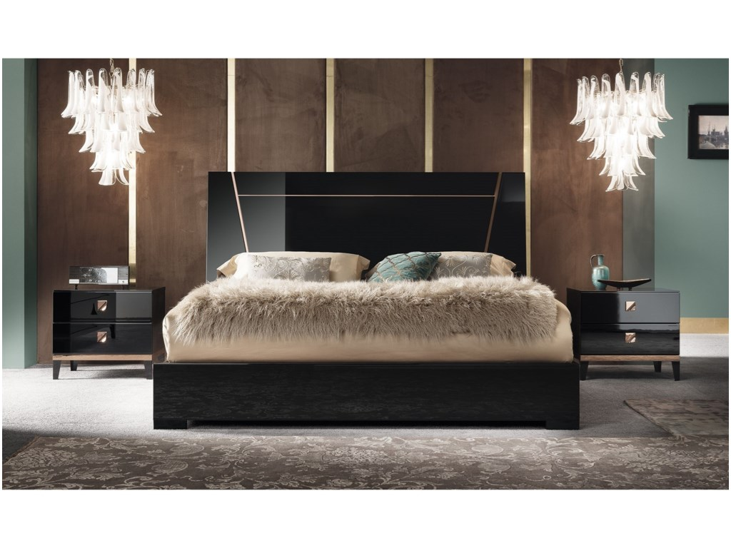 Alf Italia Mont NoirCalifornia King Bed