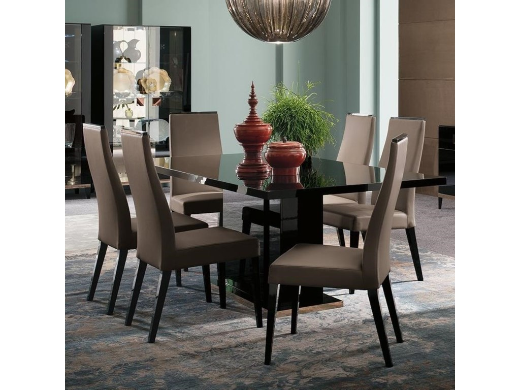 Alf Italia Mont NoirTable and Chair Set