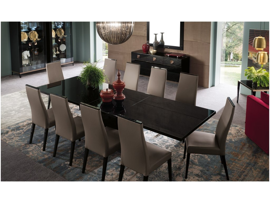 Alf Italia Mont NoirDining Table