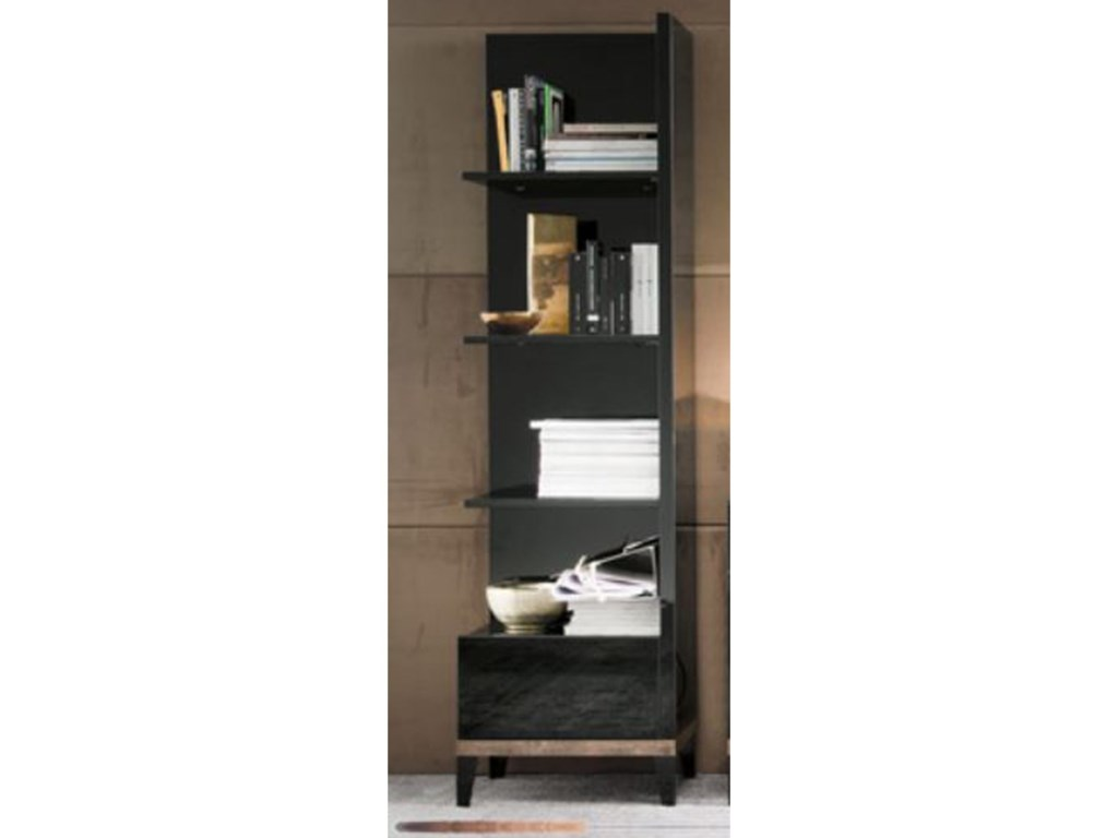 Alf Italia Mont NoirRight Bookcase