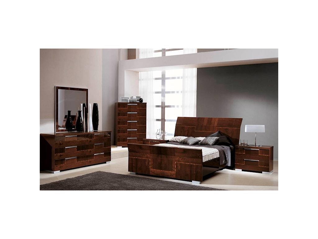 Alf Italia PisaKing Bedroom Group