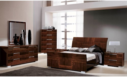 Alf Italia Pisa King Bedroom Group