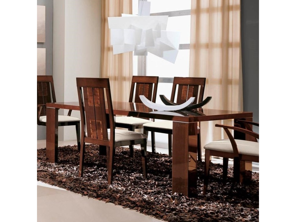Alf Italia Pisa Extension Dining Table With 2 Leaves