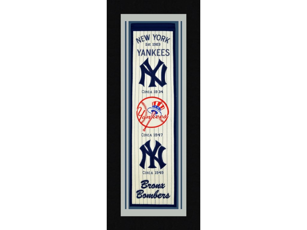 Michigan Arts & Sports MLBNew York Yankees Sports Banner