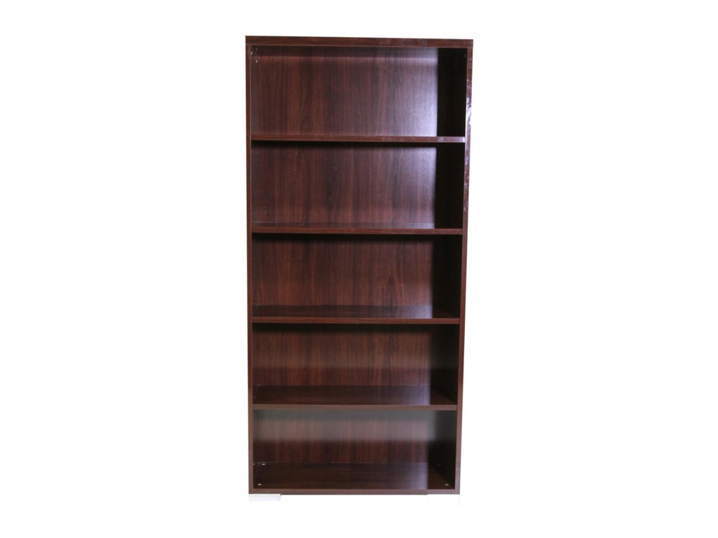 Alf Italia Pisa Bookcase | HomeWorld Furniture | Open Bookcases