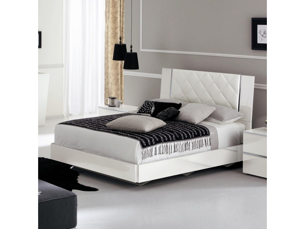 Alf Italia Stella Queen Bed | Stoney Creek Furniture | Platform Bed