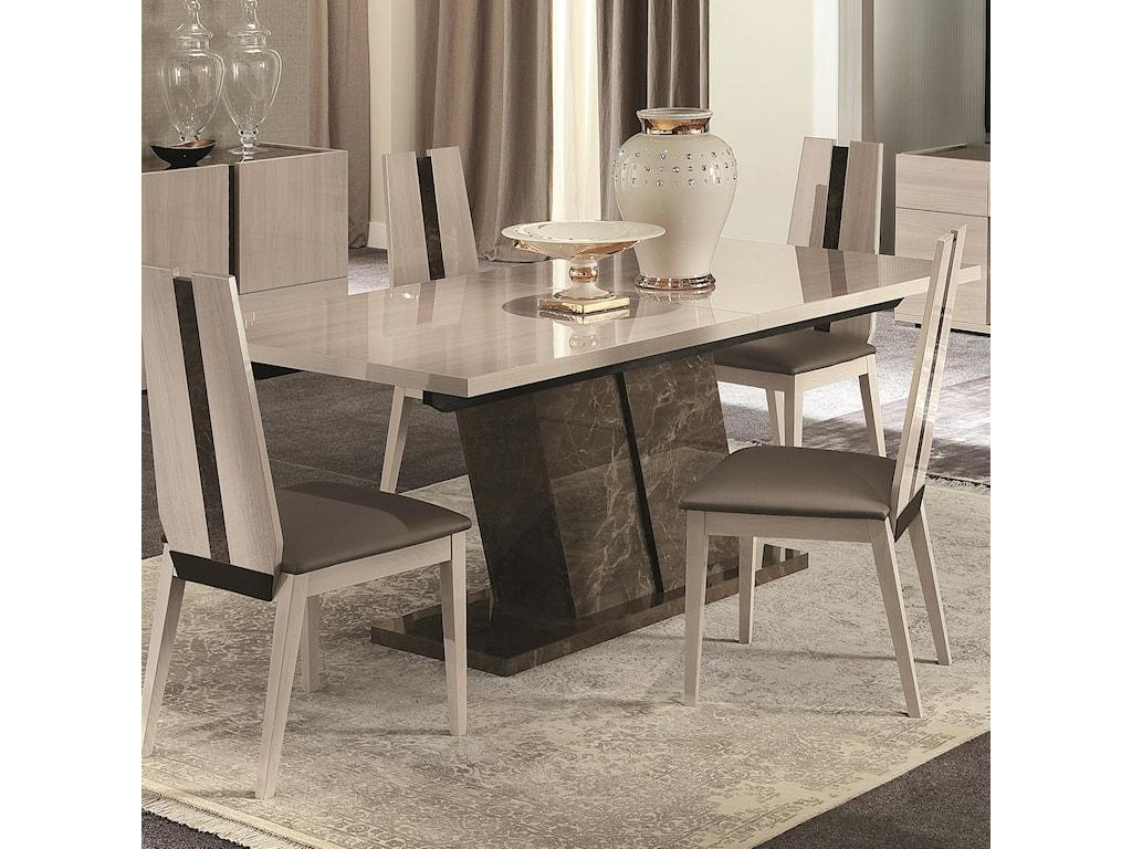 Alf Italia Teodora PJTE0615 Dining Table with Angled ...