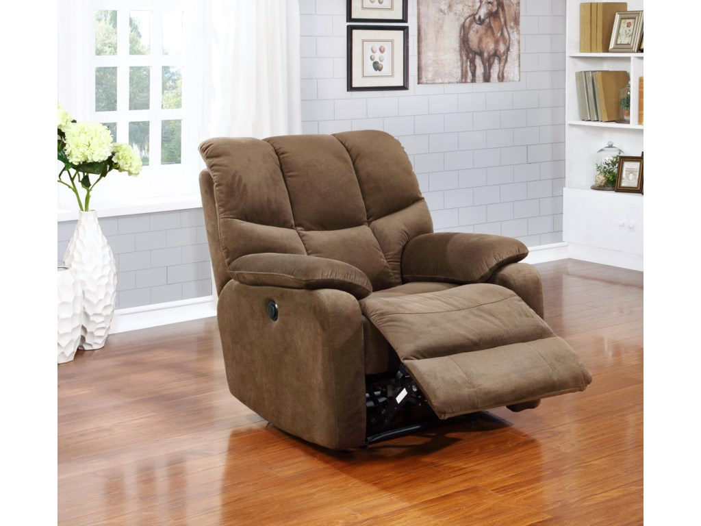 Amalfi Home Furniture JerryPower Chaise Recliner