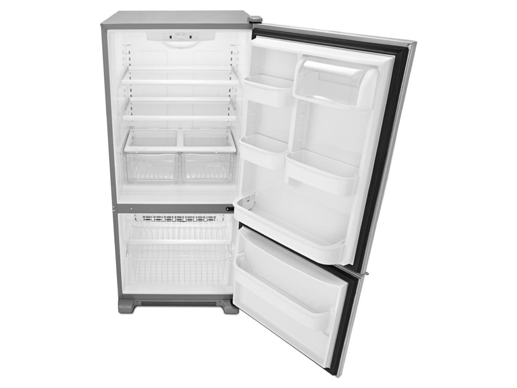 Amana Bottom Mount Refrigerators18.5 Cu. Ft. Bottom-Freezer Refrigerator